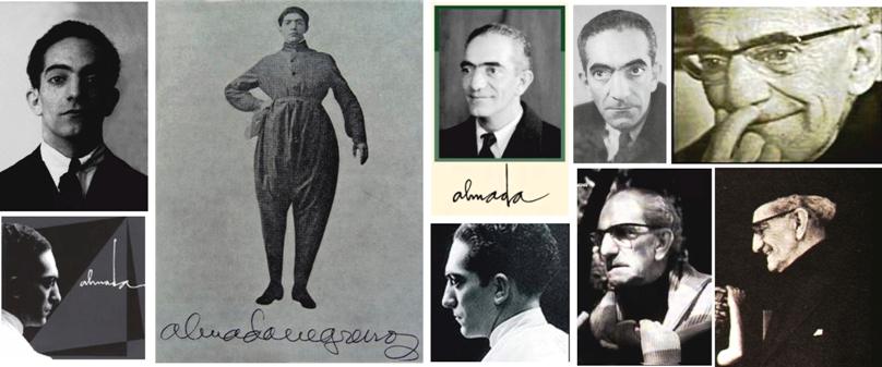 ALMADA NEGREIROS - retratos