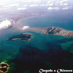 Chegada a Okinawa