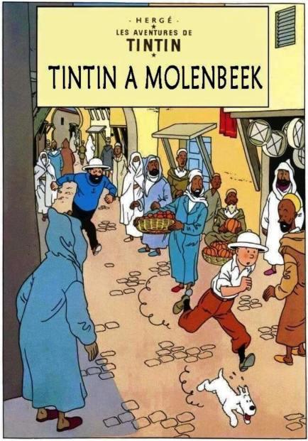 30 tintin a molenbeek