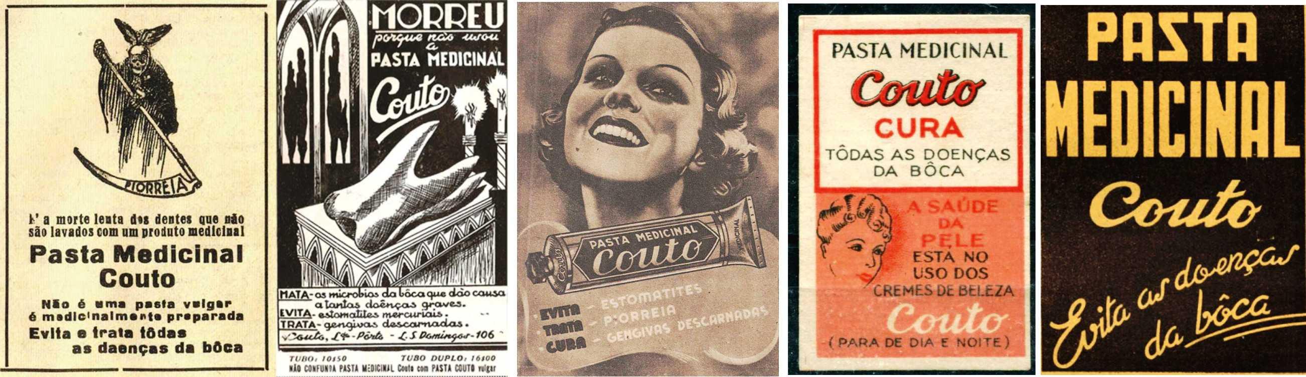 Publicidade de ontem e de hoje – cinco   largodoscorreios